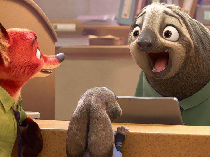 Flash, il mio personaggio preferito dal film Zootropolis, Walt Disney