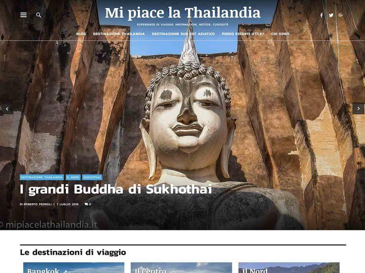 Mi piace la Thailandia